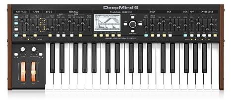 Behringer Deepmind6 - Teclado: Amazon.es: Instrumentos musicales
