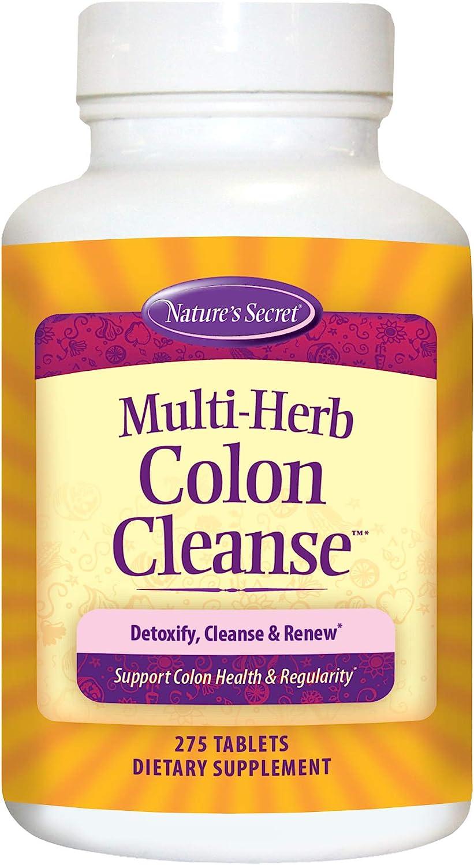 Nature's Secret Multi-Herb Colon Cleanse, 275 Tablets