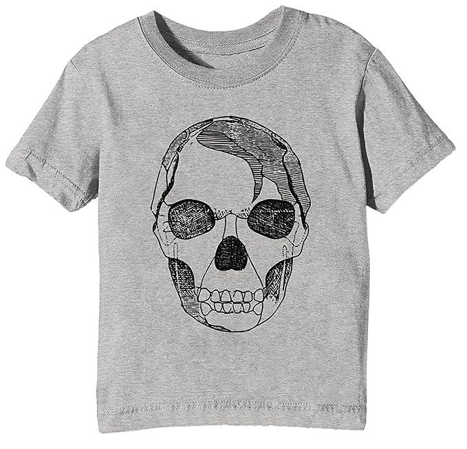 Erido Anatomía Cráneo Niños Unisexo Niño Niña Camiseta Cuello ...