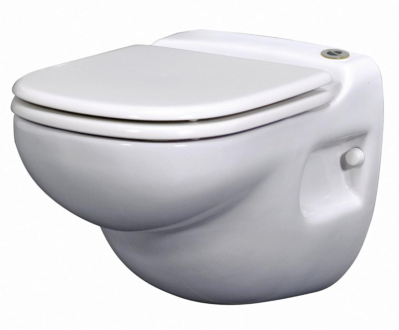 saniflo 012 sanistar wall hung macerating toilet white one piece toilets amazoncom