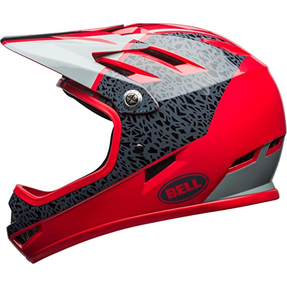 Bell Sanction Helmet Glos Hibiscus Reperation, M