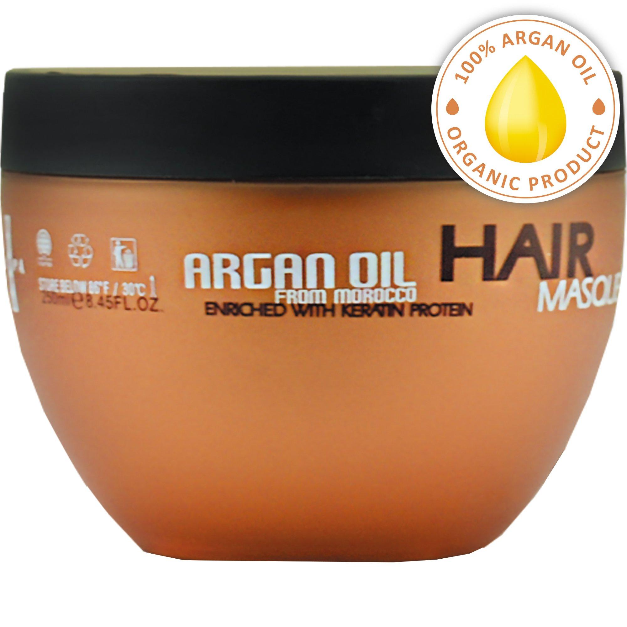 Amazon Com Natural Organic Moroccan Argan Oil Shampoo