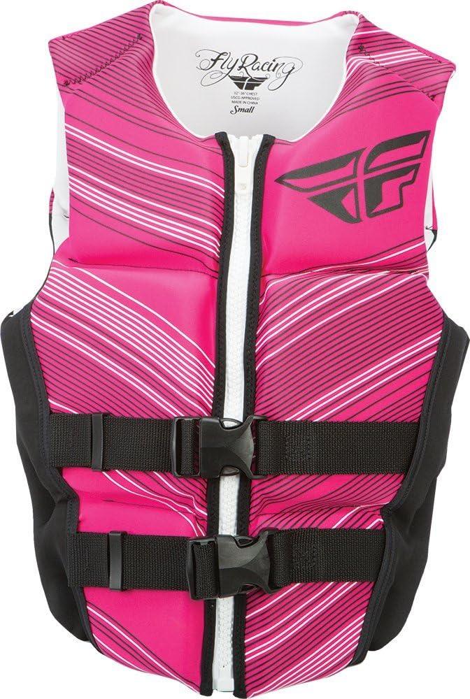 Fly Racing Womens Ladies Neoprene Vest Pink//Black X-Large