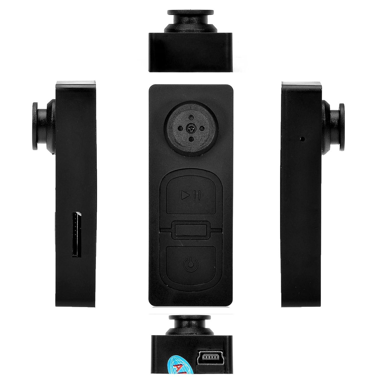 Mini DV espía botón cámara oculta DVR videocámara detectar CAM Video sonido disco: Amazon.es: Electrónica
