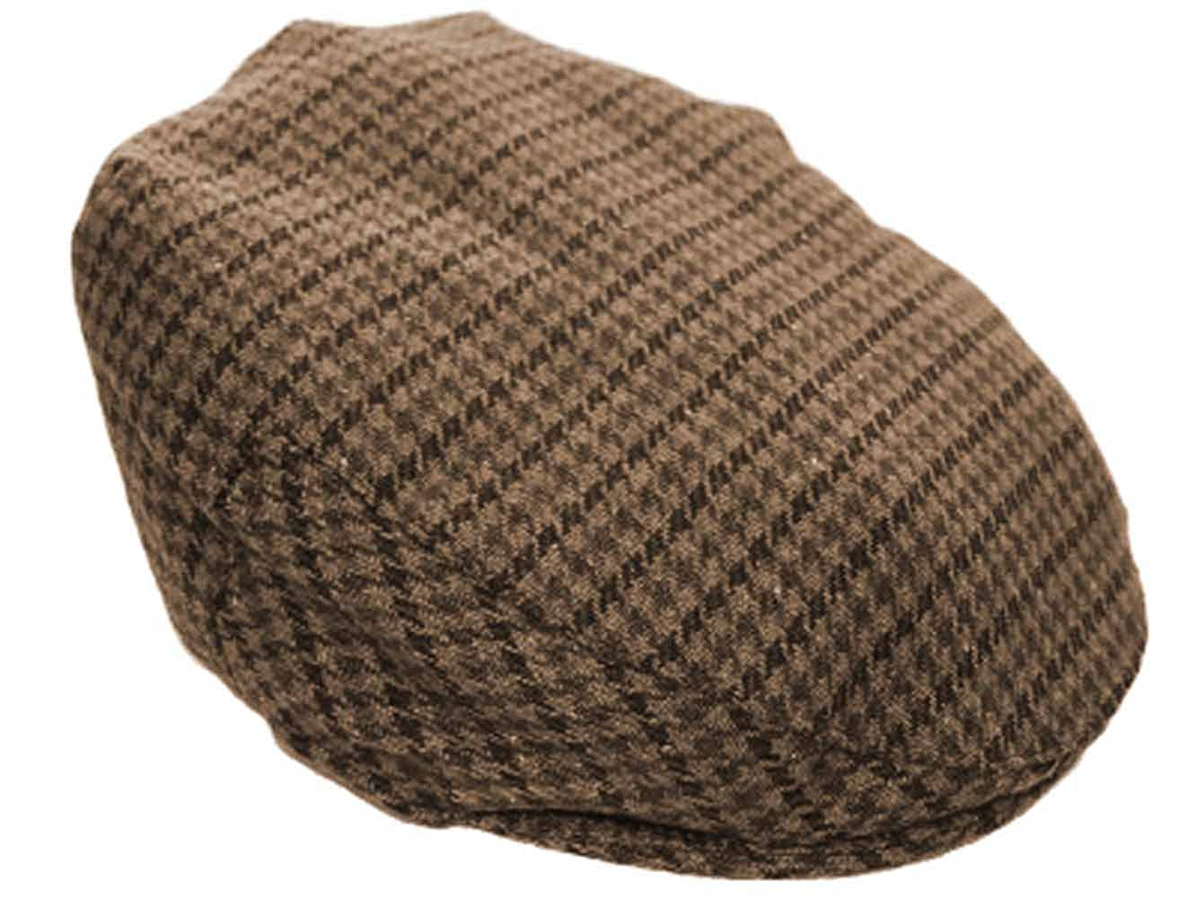 NEW TWEED COUNTRY FLAT CAP 6 SIZES AVAILABLE