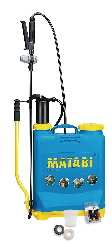 Matabi Super Green - Pulverizador, presión retenida, talla 12 ...