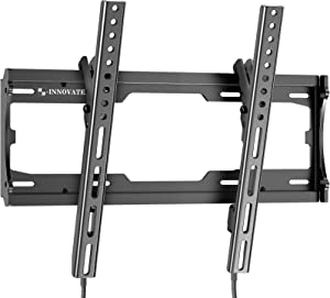 Tilt TV Wall Mount Bracket for Most Universal 23-55 Inch Flat Curved Screens LED LCD OLED TV Low Profile Easy to Install On 8-16