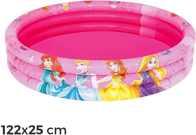 MWS2777 91047 Piscina inflable 122x25 cm princesas de Disney tres ...