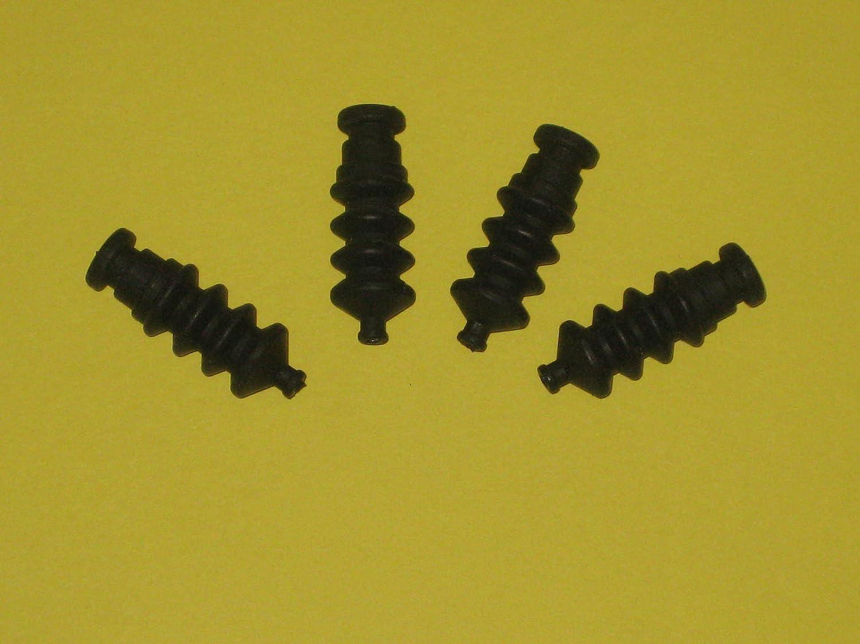 Joy-Button 2X Mini Gummi Faltenbalg f/ür Gest/änge Gelenke Baudenzug f/ür Modellbau Ruder Lenkung Abdichtung Wasserdicht Puffer Neu