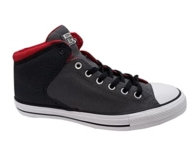 740b6897ab79 Converse Men s CTAS High Street Hi Thunder Black Casino Skateboarding Shoes  156599C (US