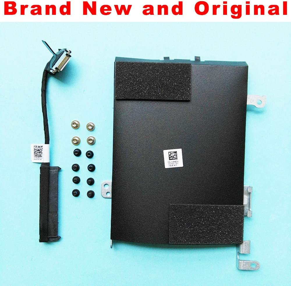 Computer Cables Original HDD SATA Cable for Dell Latitude E5570 HDD Cable Connector 04G9GN 4G9GN HDD Caddy Bracket 0VX90N VX90N Screw Free Cable Length 04G9GN and 0VX90N