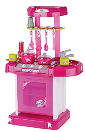 Toyrific Play Kitchen Set With Lights And Sound