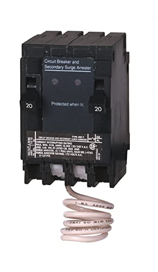 Murray MSA2020SPD Space Saving Whole House Surge Protection with ...
