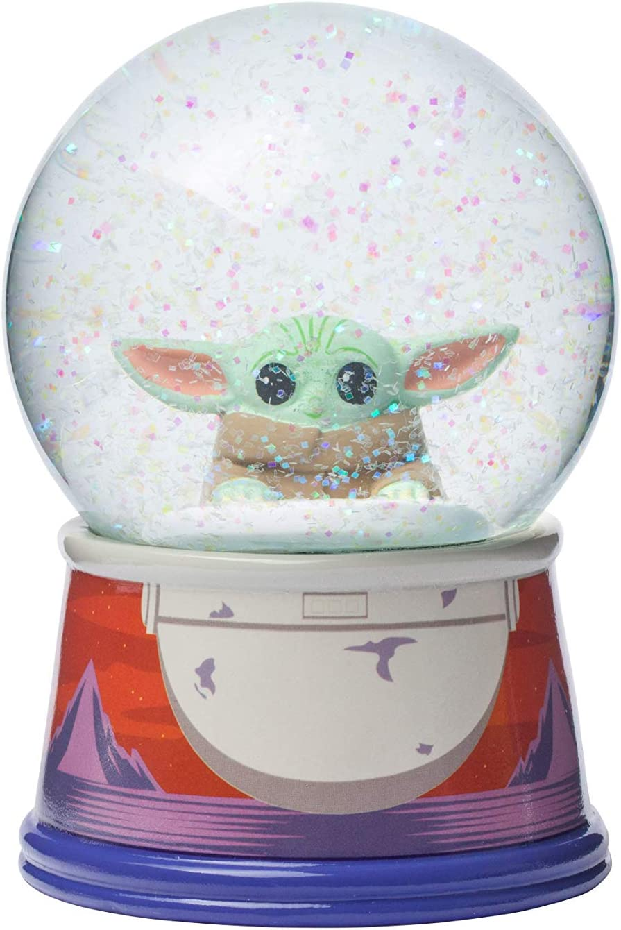 OFC510DM Multicolored Silver Buffalo The Office Worlds Best Boss 100mm Snow Globe