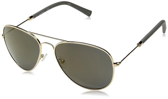 Nautica N4631Sp 717 58, Gafas de Sol para Hombre, Gold
