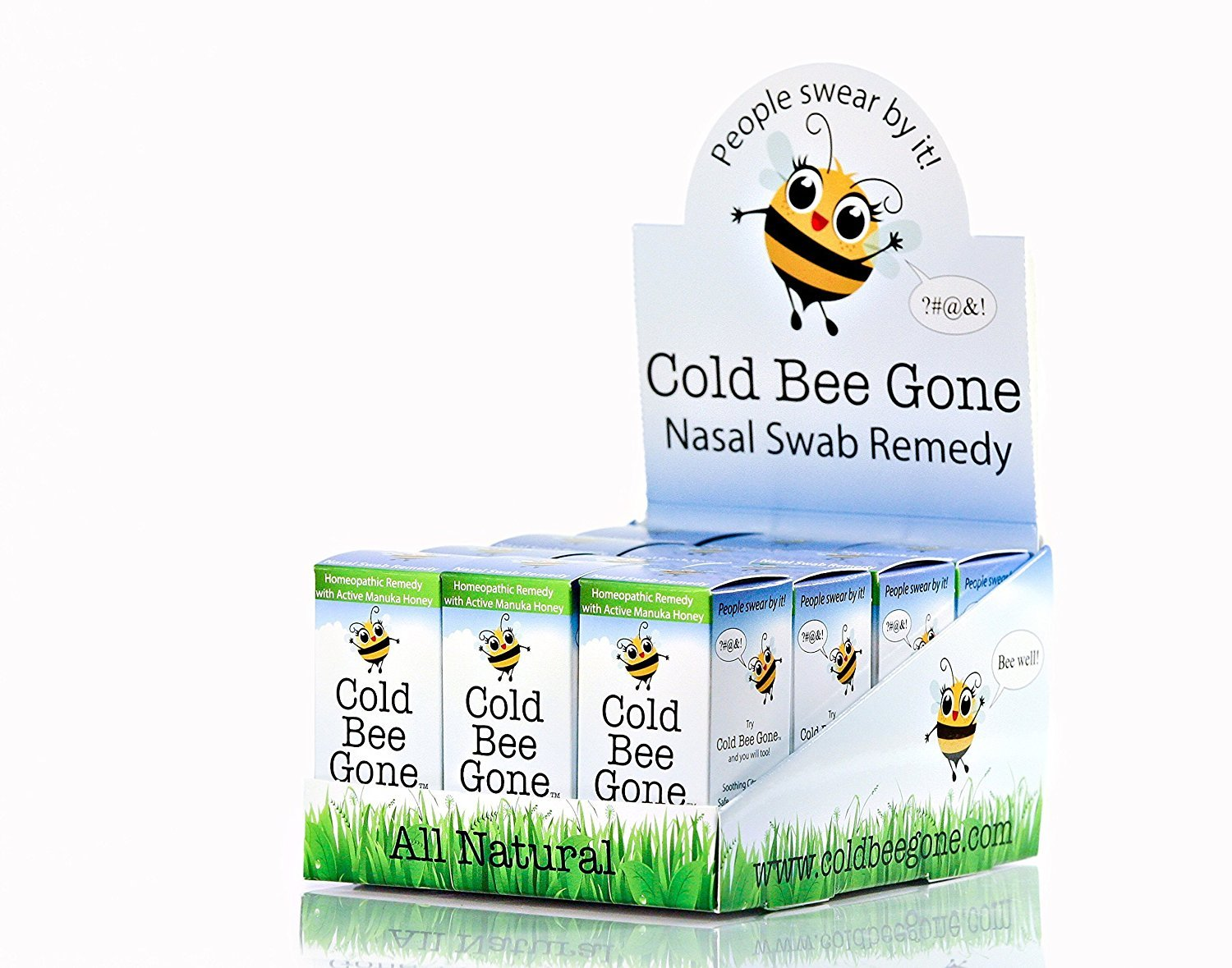 Cold Bee Gone Nasal Swab Remedy