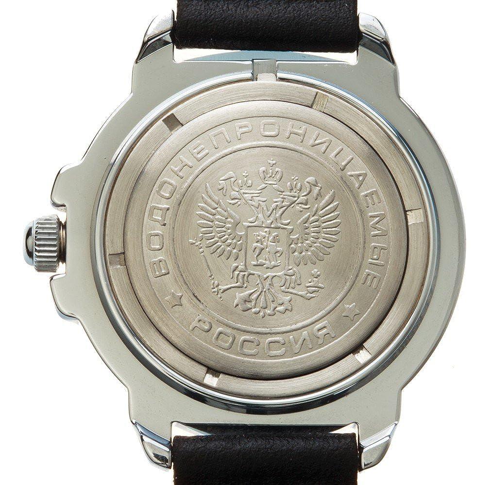 Vostok Komandirskie 2414/431289 - Reloj militar ruso, Submarino U-boot, color azul: Amazon.es: Relojes