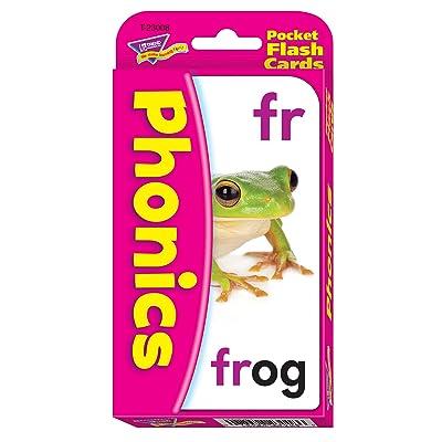 TREND enterprises, Inc. Phonics Pocket Flash Cards: Toys & Games