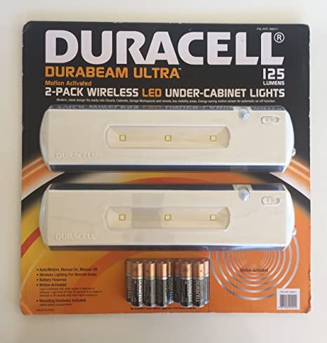 Duracell LED Under Cabinet Light, 2 Pack