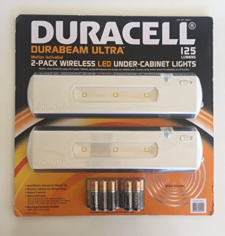Duracell LED Under Cabinet Light, 2 Pack - - Amazon.com