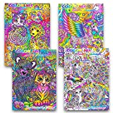 Color Me Lisa Frank Adult Coloring Book SET OF 4 2016 Just released Rare hard to Find