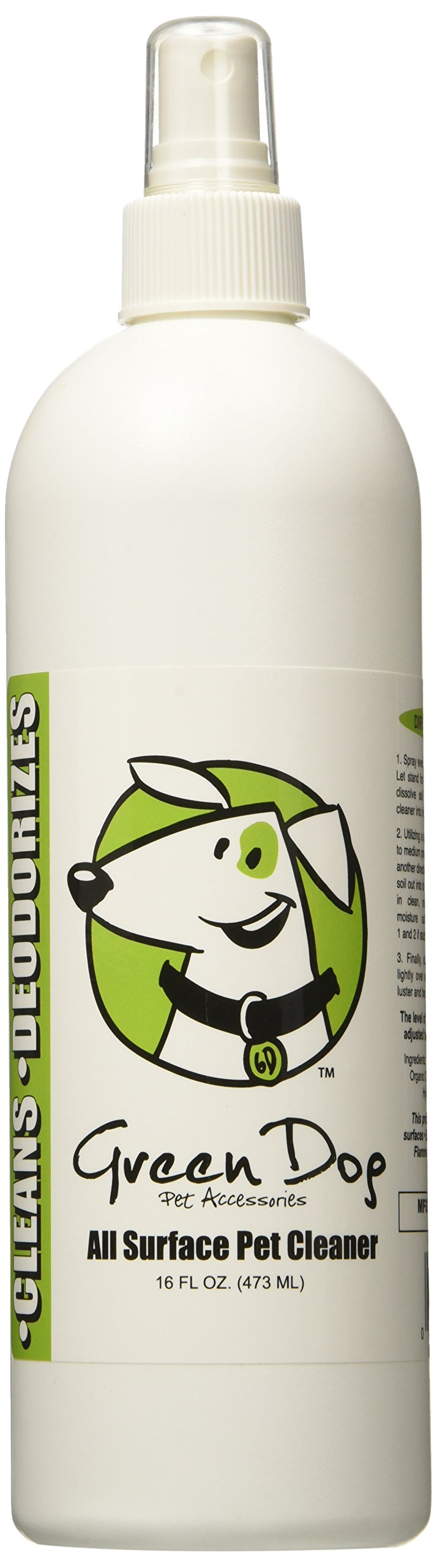 Green Dog All Surface Pet Cleaner, 16 oz