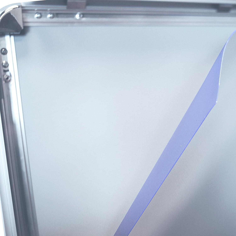 2 Stück DIN A1 (59,4 x 84,1 cm) Ersatzfolie Schutzfolie Folie für ...