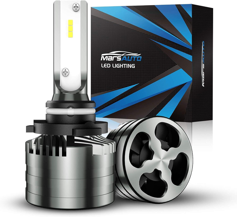 LED Headlight Kit 9006 HB4 6000K Fog Light Bulbs for LEXUS GS300 GS430 1998-2007