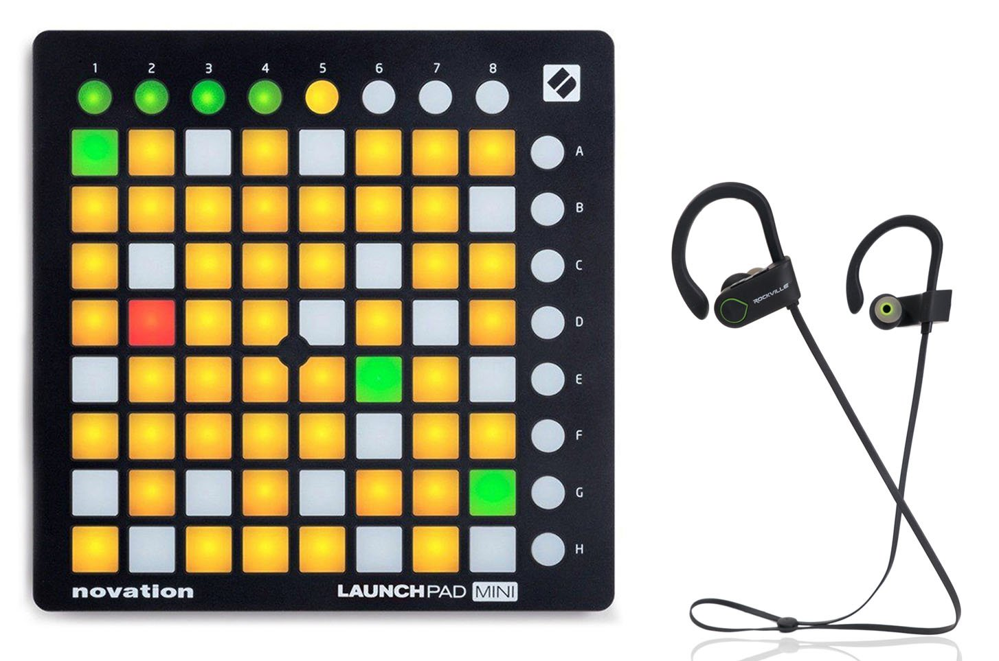 Novation LAUNCHPAD MINI MK2 MKII USB MIDI DJ Controller 64-Pad+Free Speaker ! by Novation