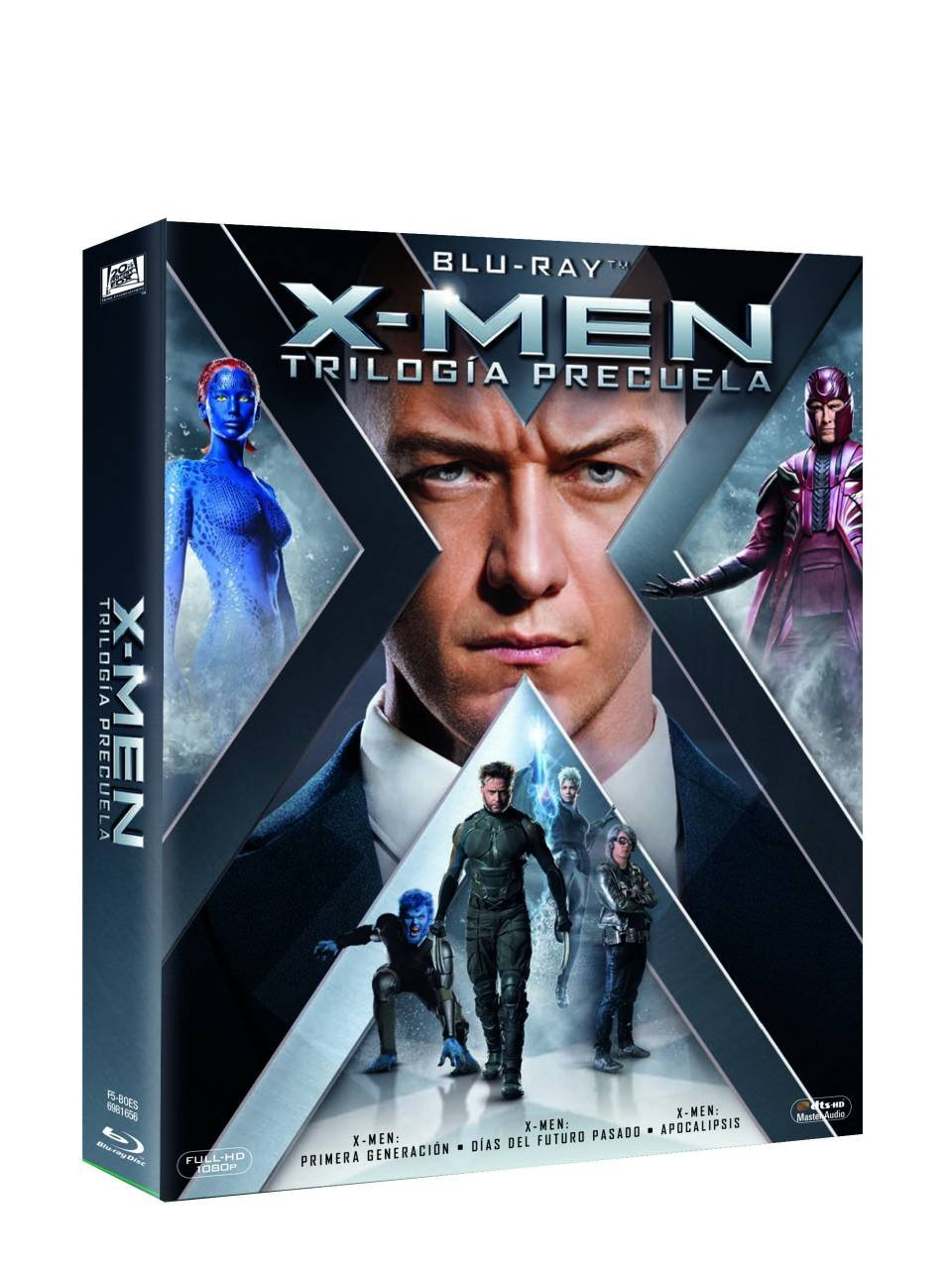 Trilogía X-Men Precuela Blu-Ray [Blu-ray]: Amazon.es: James Mcavoy ...