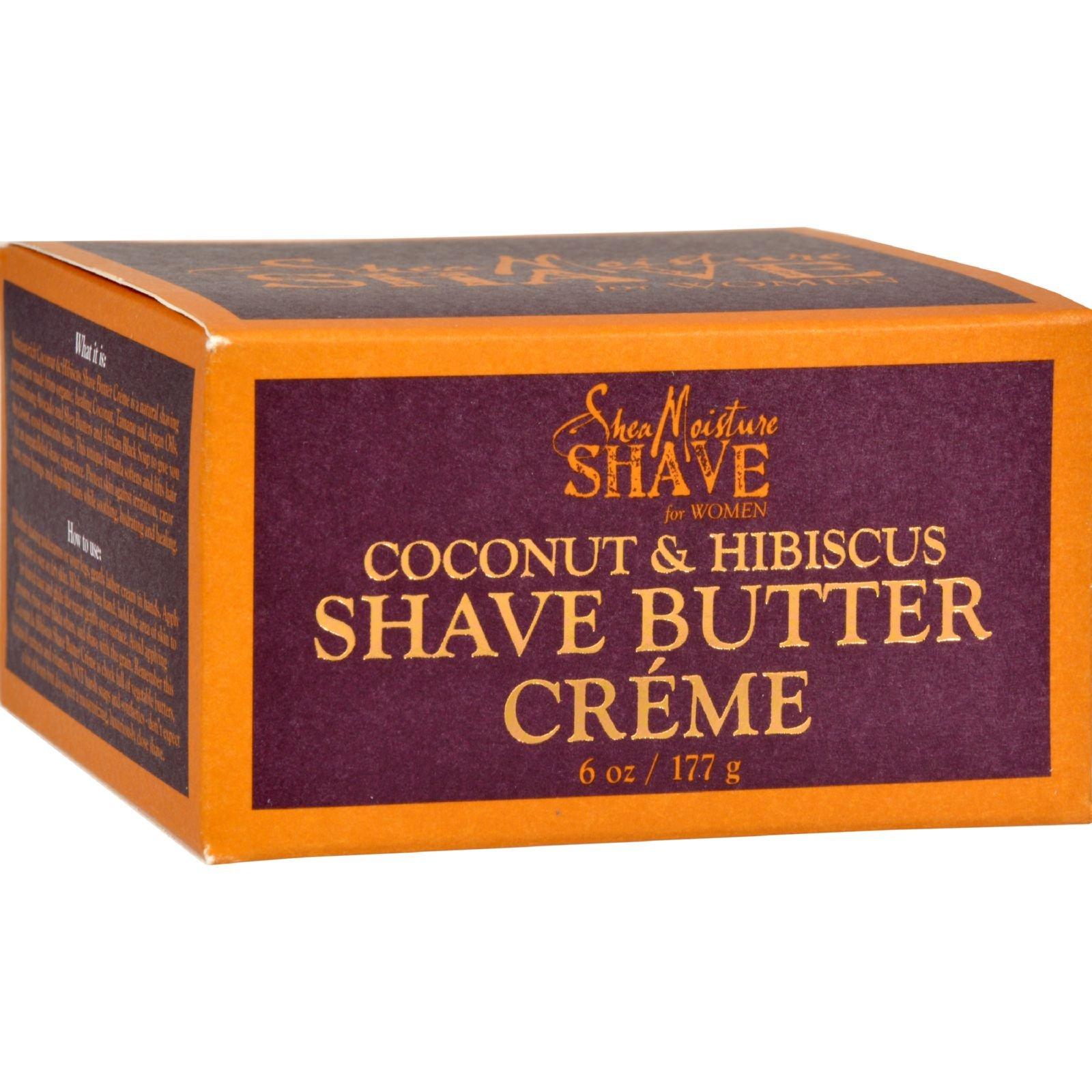 SHEA MOISTURE SHAVE BUTTER,COCONUT, 6 OZ
