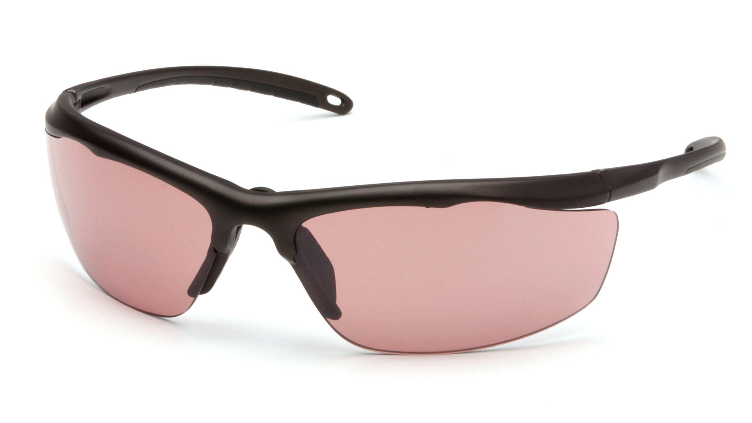 Venture Gear Zumbro Lightweight Sports Style Eyewear, Bronze Frame, Smoke Vermilion Anti-Fog Lens