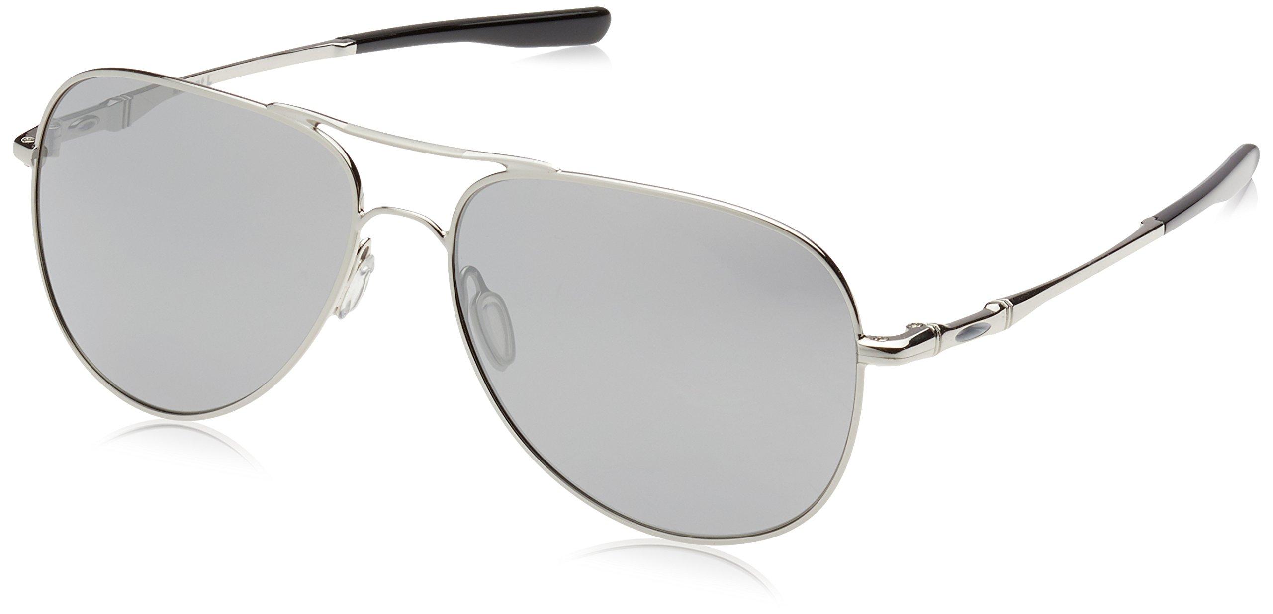 Oakley Men's Elmont M Sunglasses,Chrome/Chrome