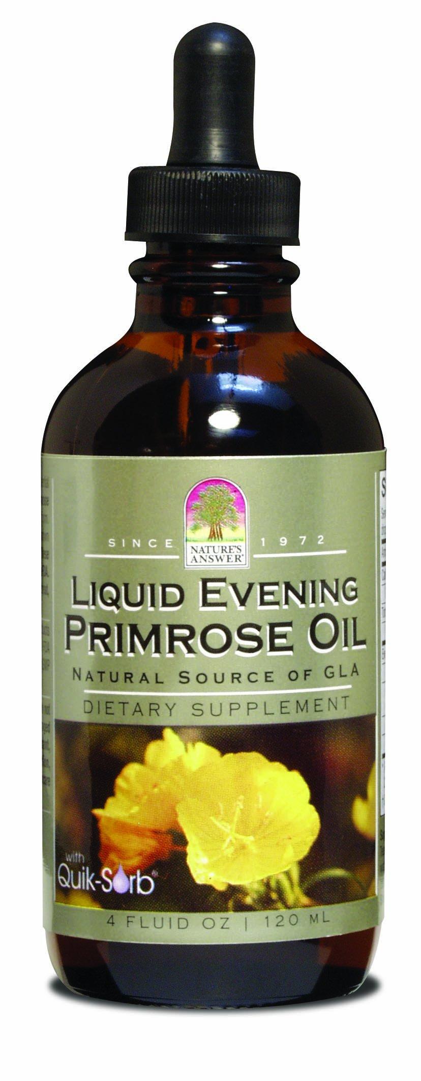 Nature's Answer Liquid Evening Primrose Oil, 4-Fluid Ounces