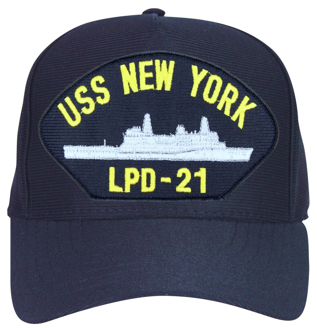 d843d0f9efb Militarybest uss new york ball cap hat with custom back text sports outdoors  jpg 1015x1050 Uss