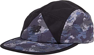 New Balance 5-Panel Camper Color Block Archive Hat Camo Green ...