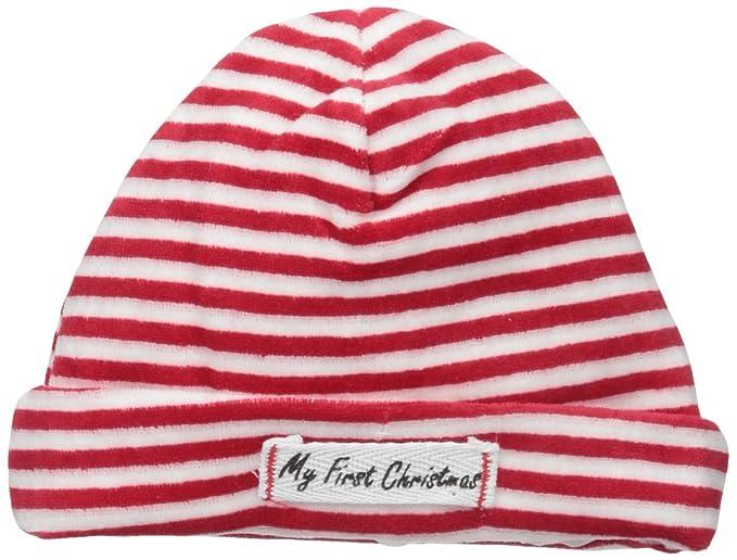 d9c86c8bf6f Amazon.com  Mud Pie Unisex-Baby My First Christmas Hat