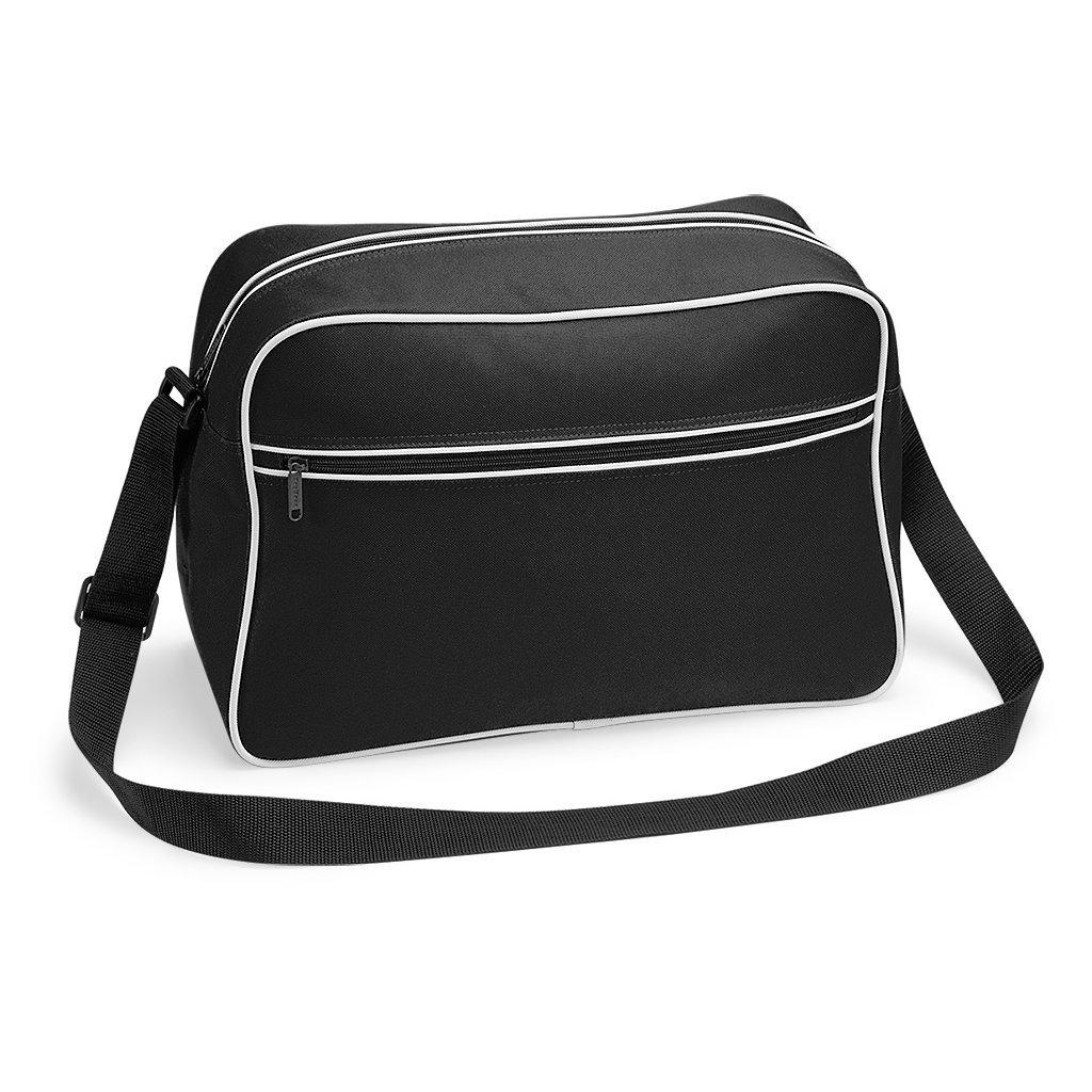 TASCHE Retro Shoulder / Polyester / 40x28x18 cm / Black / 684.29 BG14
