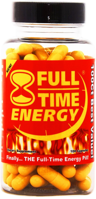 Amazon.com: Full-Time Energy X3 - 100 Capsules - Increase ...
