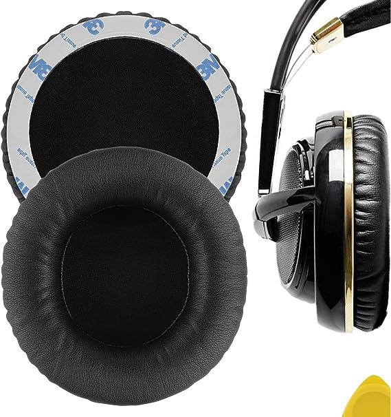 Geekria Almohadillas de Repuesto para Auriculares Steelseries Siberia V1, V2, V3, Auriculares Almohadillas, Headphone Ear Covers
