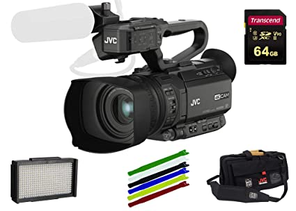 Amazon.com: JVC GY-HM200 4KCAM - Videocámara portátil ...