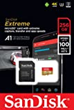 SanDisk Extreme 256GB microSDXC UHS-I Card with