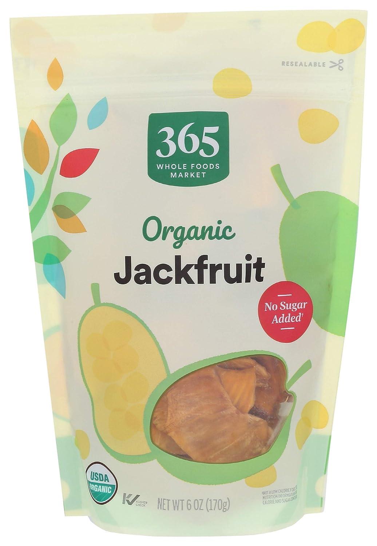 365 by Whole Foods Market, Organic Dried Fruit, Jackfruit, 6 Ounce