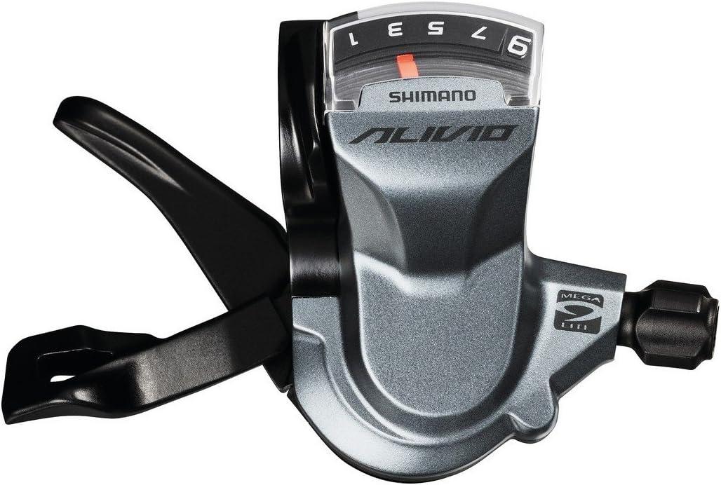 Lizac Shimano Levier de Vitesse Altus SL-M310 8 Vitesse Droite Manette D/érailleur avec C/âble pour VTT V/élo Course