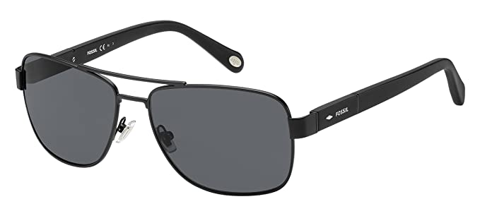 578626e6e0 Amazon.com  Fossil Men s Fos2048s Rectangular Sunglasses