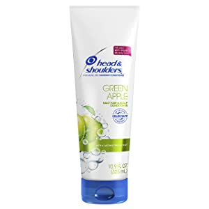 Head and Shoulders Green Apple Conditioner 13.5 Fl Oz(Packaging May Vary)