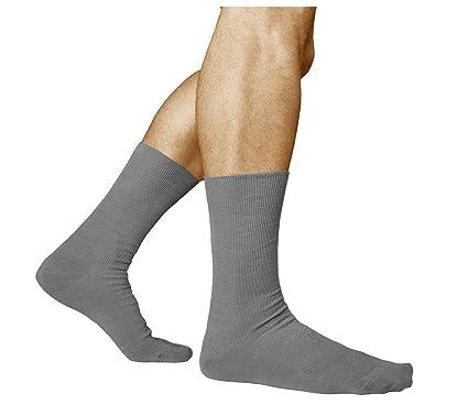 cdca883fe9230 vitsocks Chaussettes Sans Élastique Homme (Lot de 3) Non Comprimantes pour  Pieds Fatigués COTON PEIGNÉ, Santé: Amazon.fr: Vêtements et accessoires