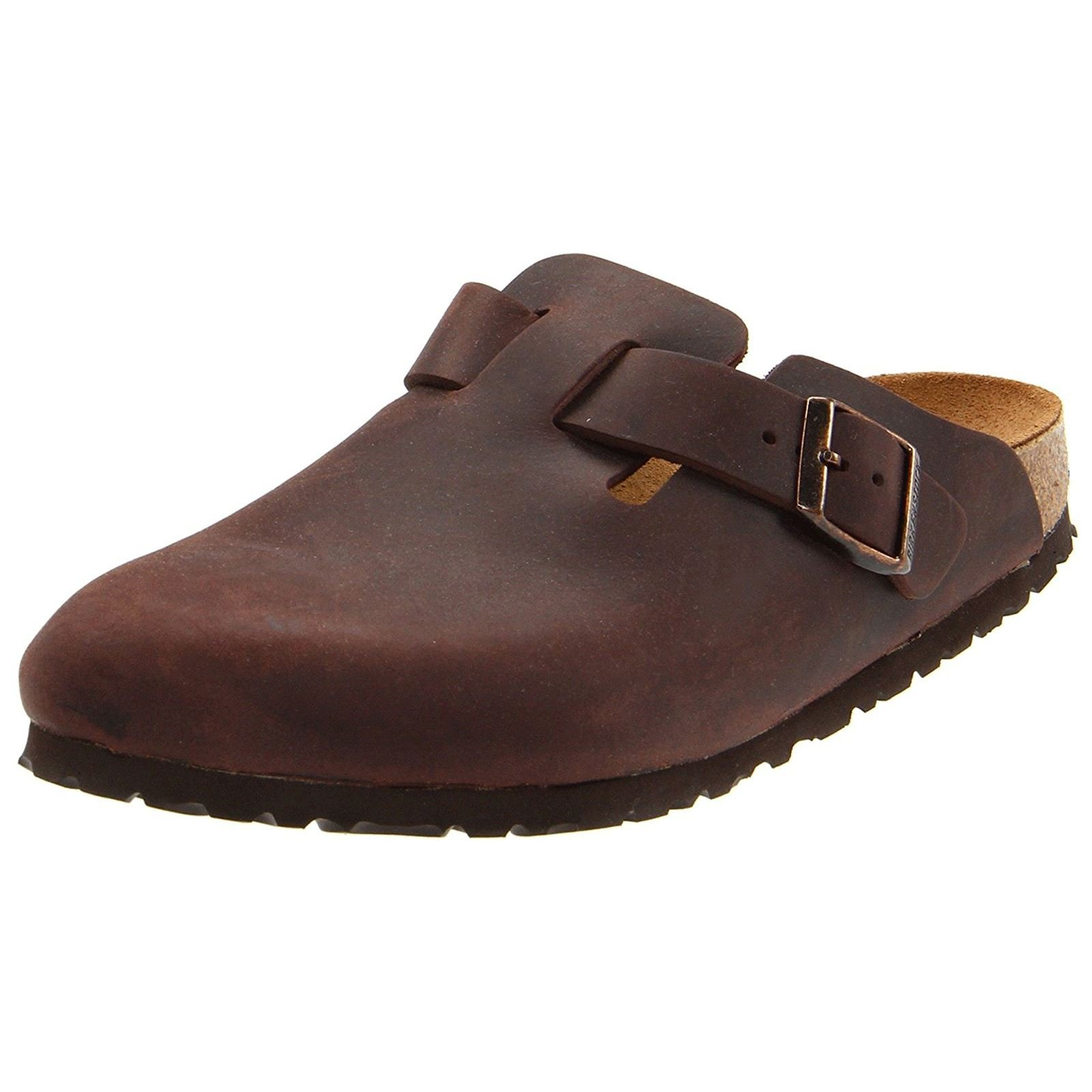 Birkenstock Unisex Boston Clog,Habana Oiled Leather,41 M EU