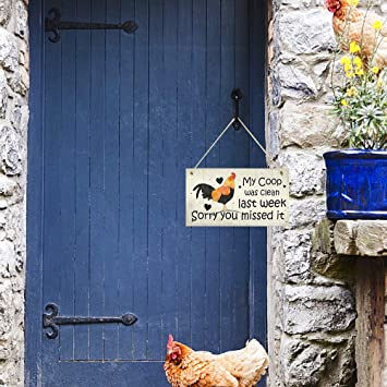 Asamio Piatti quadrati in legno per pollo da appendere
