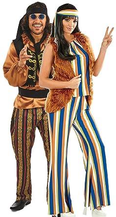 Amazon.com: Vestido para mujer y hombre de los años 60 con ...